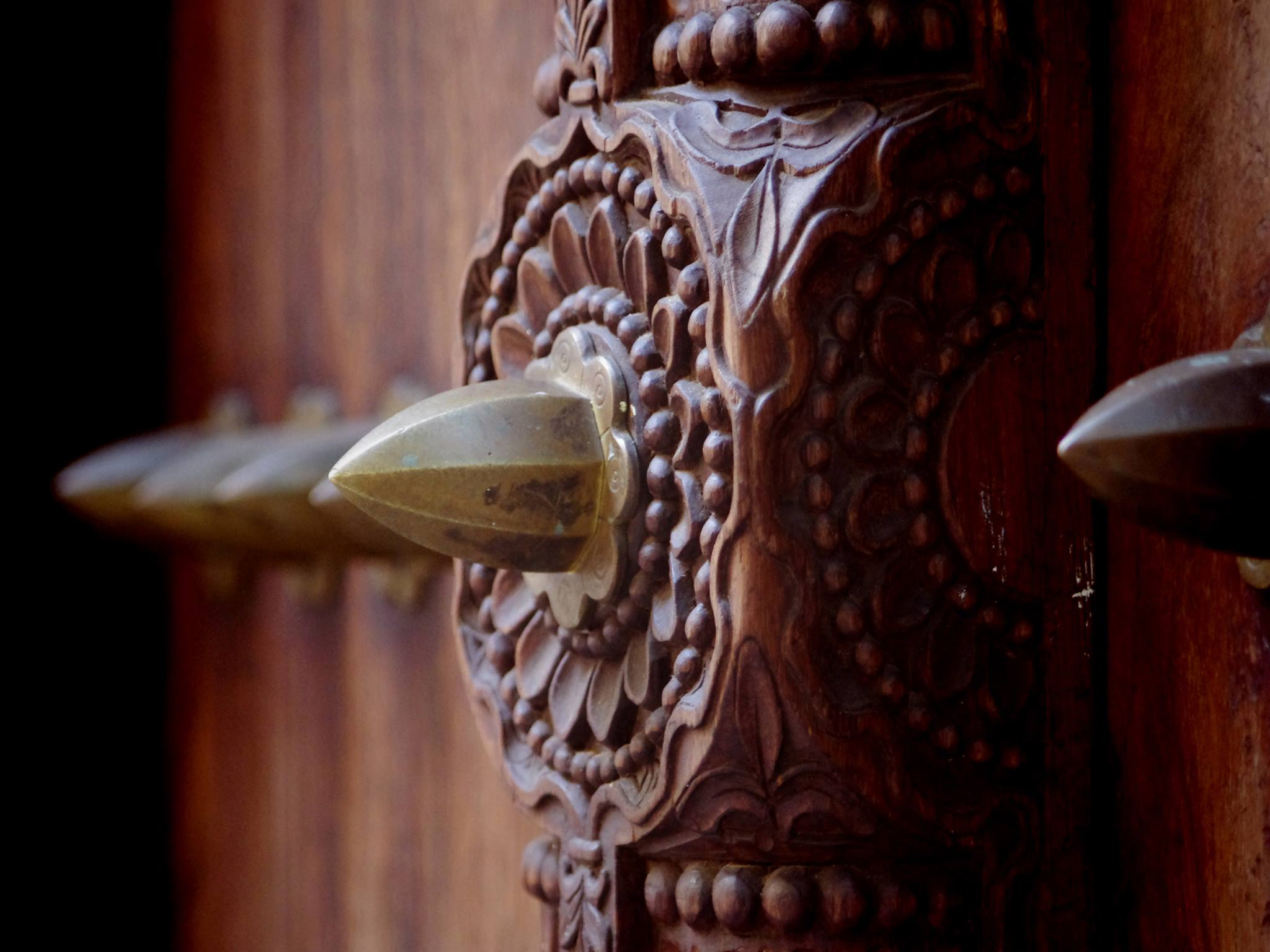 Zanzibar Beautiful Curved Doors | Jambo Guest House