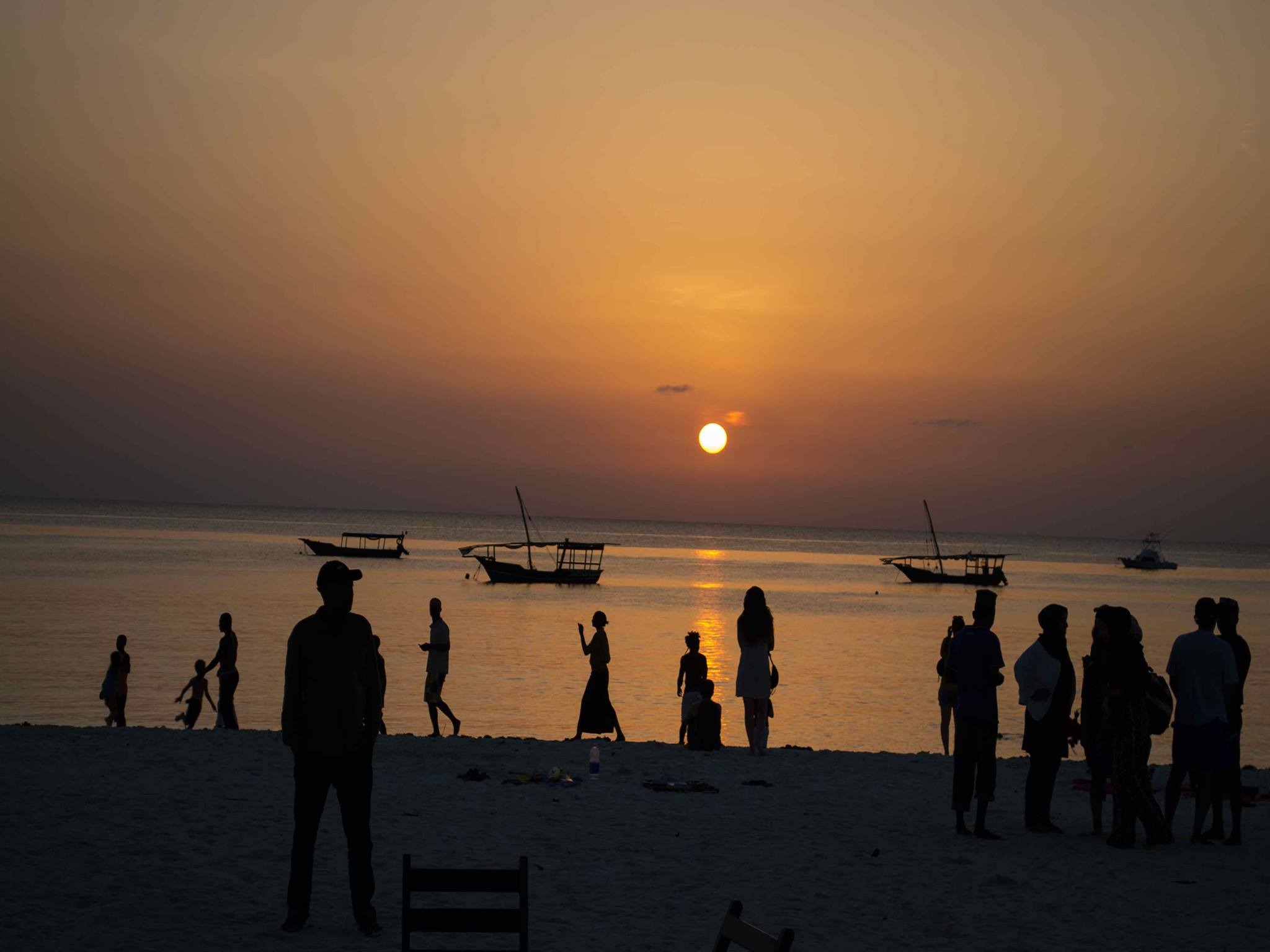 Sunset in Zanzibar | Jambo Guest House